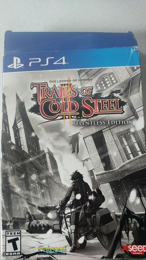 PS4 trails of cold steel for Sale in Fort Lauderdale, FL