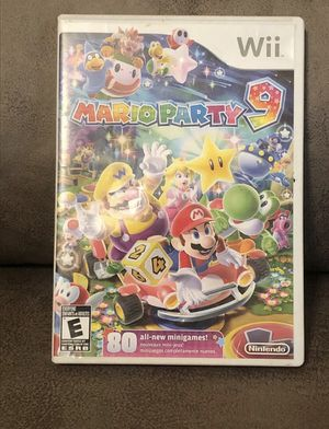 Mario Party 9 for Wii for Sale in Cuero, TX