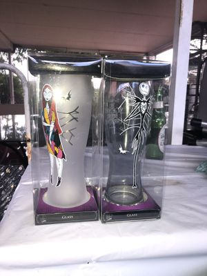 Nightmare before Christmas glass for Sale in North Miami Beach, FL