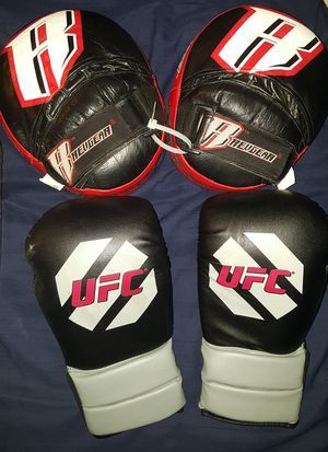 MMA Boxing Gloves & Pads Full Set for Sale in Los Angeles, CA