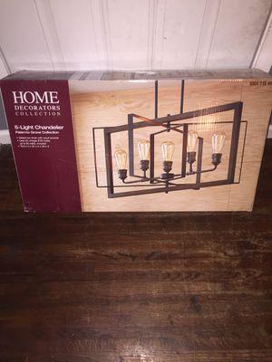 Home Decorators ( 5 light chandelier) for Sale in Irving, TX