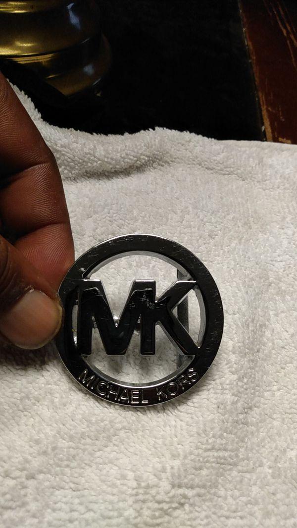 Michael kors belt buckle
