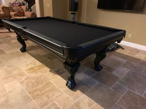 New 8ft Pool table. Same day delivery! Low monthly finance of 170$ for Sale in Mesa, AZ