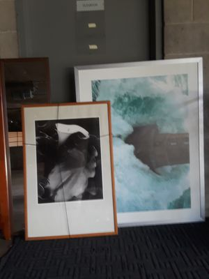 IKEA very large portrait and poster frame, both for only $5 for Sale in Long Beach, CA