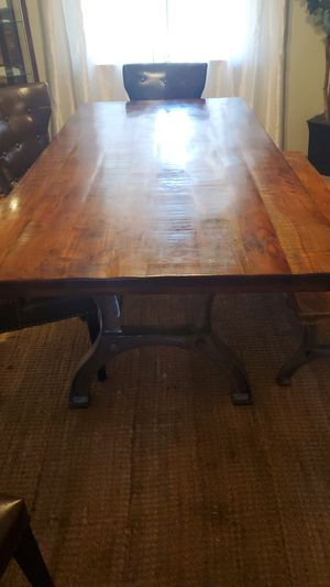 Ashley Solid wood dining table for Sale in Apple Valley, CA