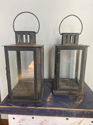 Metal lantern for Sale in Fremont, CA