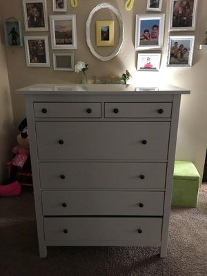 White Hemnes dresser for Sale in Falls Church, VA