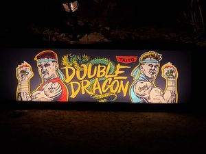 DOUBLE DRAGON VINTAGE ARCADE MARQUEE LIGHT BOX for Sale in Sicklerville, NJ