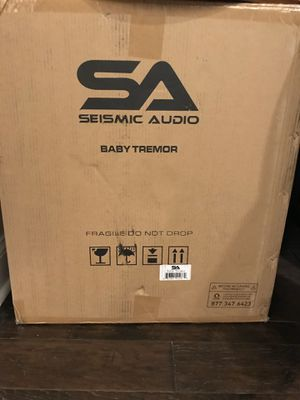 "Seismic Audio - Baby-Tremor - 15"" Pro Audio Subwoofer Cabinet - 300 Watts RMS - PA/DJ Stage, Studio, Live Sound Subwoofer for Sale in Norcross, GA"