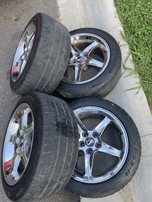 Cobra rims And tires 17s for Sale in Lawrenceville, GA