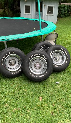 15x8 rallys 5x5 for Sale in Fort Worth, TX