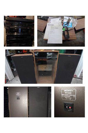 Sony Component System SEN-280 & Audio Rack for Sale in Edmonds, WA
