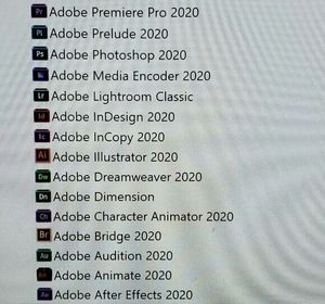 Adobe Master Collection 2020 for Sale in San Diego, CA