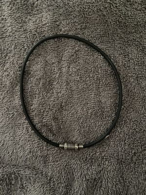 Tiffany and Co. Black Silver Necklace for Sale in Austin, TX