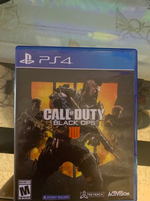 Call of duty black ops 4 trade for Sale in San Antonio, TX