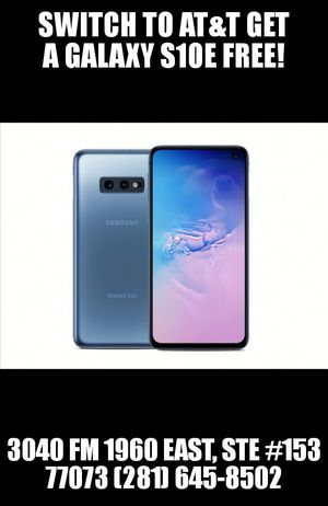 Galaxy S10e Free!!! 🔥 🔥 🔥 for Sale in Houston, TX