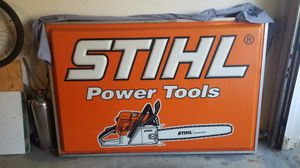 Stihl light-up sign double sided for Sale in Kent, OH