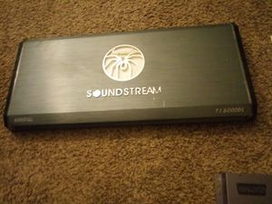 Soundstream 6000 amp for Sale in Perris, CA