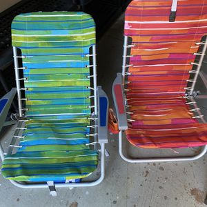 Backpack Folding Beach Chairs for Sale in Temecula, CA