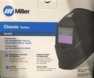 Miller welding helmet for Sale in Moreno Valley, CA
