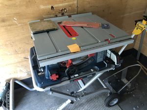 Table saw and DataBlade for Sale in Olympia, WA
