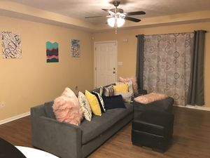 2 piece sectional couch in GOOD condition for Sale in Farmville, VA