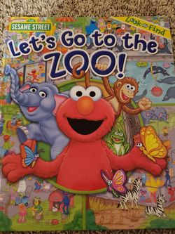 Sesame Street Let's Go To The Zoo Look And Find for Sale in Ankeny,  IA