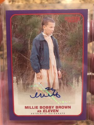 Millie Bobby Brown Auto - only 25! for Sale in Payson, AZ