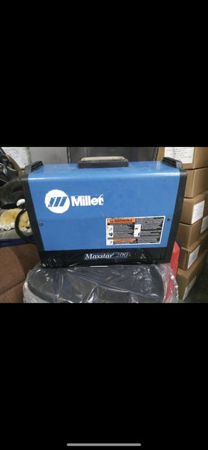 MILLER ELECTRIC Maxstar 200 SD TIG/Stick Welding Welder for Sale in Lawrence, MA