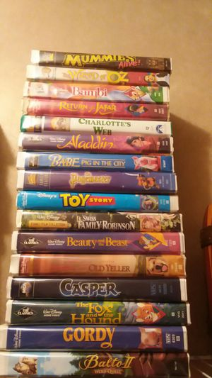 VHS tapes for Sale in LA, US