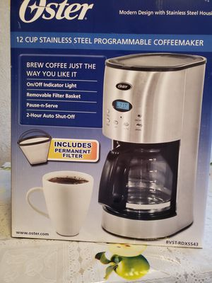 Oster 12 cup programmable coffee maker for Sale in Fillmore, CA