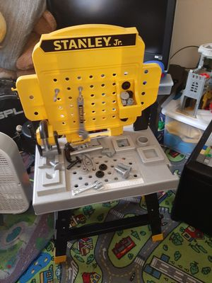 Stanley jr toy tool bench for Sale in Hagerstown, MD
