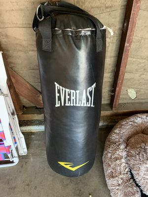Everlast punching bag for Sale in Claremont, CA