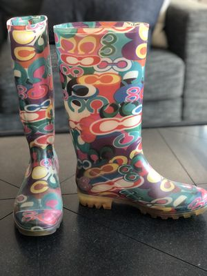 Coach Rain Boots size 7 for Sale in Coronado, CA