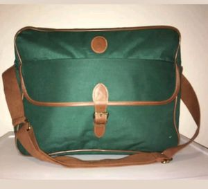 Ralph Lauren Polo Fragrance Messenger Shoulder Bag Green/Brown for Sale in Bonita, CA