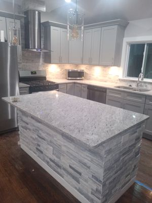 Shaker grey kitchen and bath cabinets for Sale in Smyrna, GA