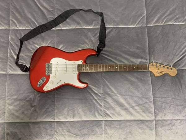 Fender, Squire, Electric Guitar, Guitar Case, Guitar Amp