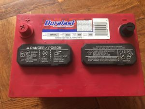 Duralast automative/car battery for Sale in Jersey City, NJ