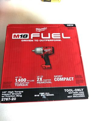 Milwaukee fuel 1400 lbs torque for Sale in Denver, CO