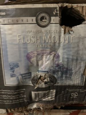 "13"" Flush Mount Fixture Light for Sale in Los Angeles, CA"