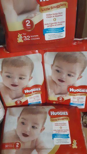 200 Huggies size 2 for Sale in Philadelphia, PA