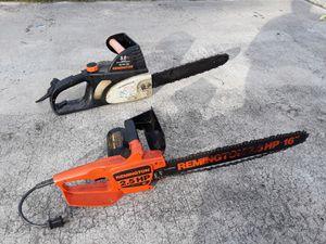 2 Remington chainsaws for Sale in Orlando, FL