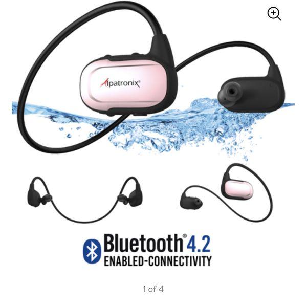 Alpatronix HX250 Waterproof Bluetooth Earbuds