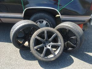 225 / 40 r 18 Infinity Rims and Kuhmo tires for Sale in Pflugerville, TX
