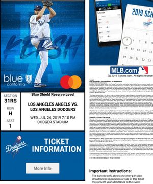 ANGELS VS DODGERS WEDNESDAY JULY 24 for Sale in Pico Rivera, CA