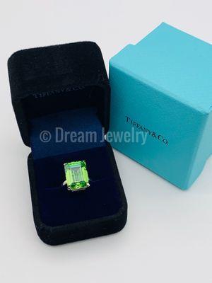 Tiffany & Co Green Quartz Sparkler Ring for Sale in Brooklyn, NY