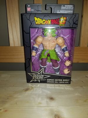 Dragon Ball Stars Super Saiyan Broly Dragon Ball Super Version Action Figure for Sale in Romeoville, IL