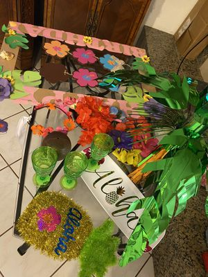 Moana theme party for Sale in Dallas, TX