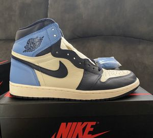 Jordan 1 Retro High OG Obsidian *shipping only* *cashapp pay by my cashtag name or venmo for Sale in Phoenix, AZ