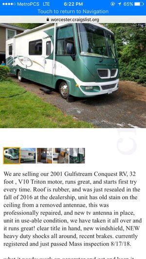 Gulfstream conquest RV for Sale in Providence, RI